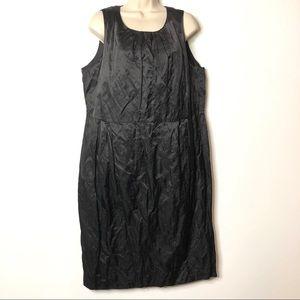 Eileen Fisher Black Dress L